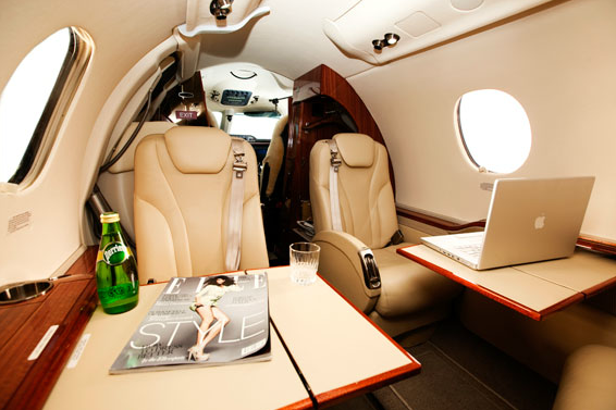 Wnętrze samolotu 1
