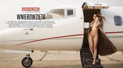 Playboy i Playmate lipca 2016 w samolocie Call&Fly