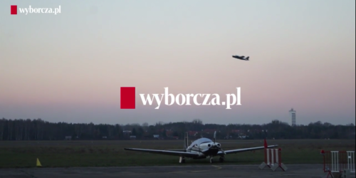 Wyborcza about Call&Fly! See the movie!
