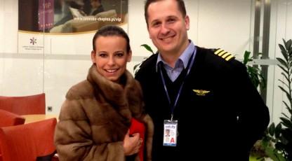 Anna Mucha na pokładzie Call&Fly!