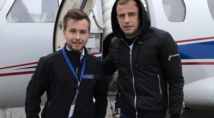 Piłkarze Reprezentacji Polski zajmują stałe miejsce na liście naszych pasażerów :)