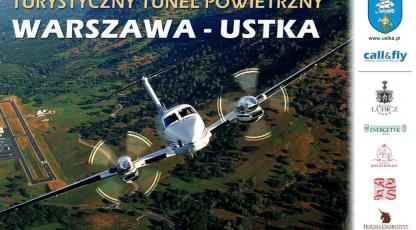 Turystyczny most powietrzny Warszawa - Ustka!