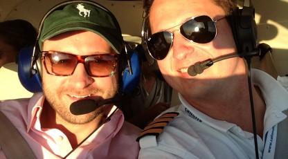 Borys Szyc deklaruje, że lata tylko z Call&Fly