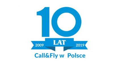 10 YEARS of Call&Fly in Poland!