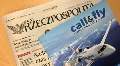 The Rzeczpospolita press about Call&Fly