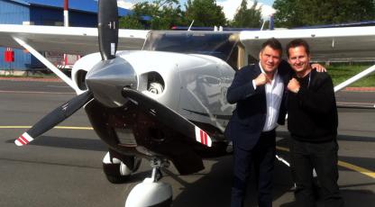Dariusz Michalczewski travels with Call&Fly
