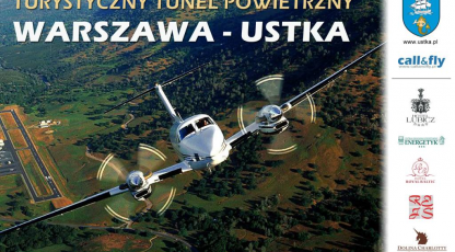 Touristic air bridge Warsaw-Ustka!